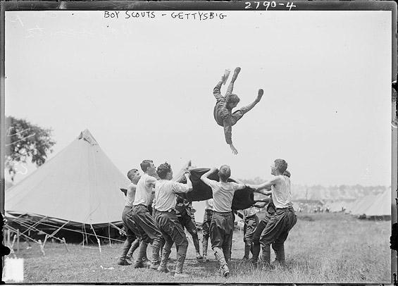 Boy Scouts - Gettysburg