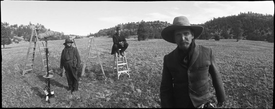 true grit film making with the The cinematography and score entwine elegantly in the movie's opening,   indeed the coens' decision to make true grit, and to cast a young.